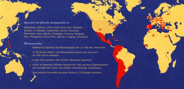 Spanisch in der Welt